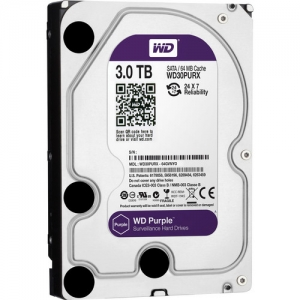 Жесткий диск Western Digital Purple WD30PURX 3TB